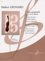 Hubert Léonard - Solo F in F major op. 62 - Sheet Music - di-arezzo.com