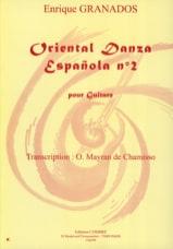 Oriental Danza Espanola n° 2 Enrique Granados laflutedepan.com