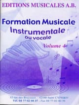 AB - Instrumental or vocal FM, Volume 4 - Sheet Music - di-arezzo.co.uk
