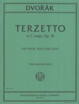 Terzetto C major op. 74 - Violin viola cello - Score + Parts laflutedepan