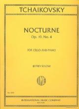 Nocturne op. 19 n° 4 - Cello laflutedepan.com