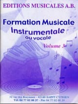 AB - FM Instrumental Or Vocal Volume 3 - Sheet Music - di-arezzo.co.uk