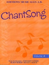 AB - Chantsong – Volume 4 - Partition - di-arezzo.fr
