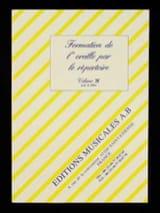 Formation de l' Oreille Par le Répertoire Volume 3f laflutedepan.com