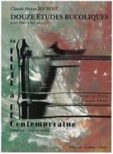 12 Etudes bucoliques - Claude-Henry Joubert - laflutedepan.com