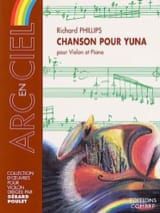 Richard Phillips - Chanson pour Yuna - Partition - di-arezzo.fr