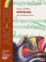 Batifolage Francis Coiteux Partition Contrebasse - laflutedepan.com