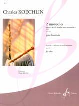 Charles Koechlin - 2 Monodies Op. 213 - Sheet Music - di-arezzo.co.uk