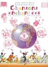 Chansons enchantées Volume 2 - Prof. Partition laflutedepan.com