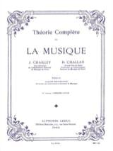 Jacques Chailley / Henri Challan - Théorie complète de la musique - Volume 1 - Partition - di-arezzo.fr