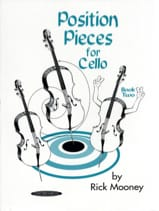 Position pieces for Cello - Book 2 Rick Mooney laflutedepan.com