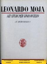 6 Etudes pour violoncelle op. 24 Leonardo Moja laflutedepan.com