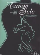 Adrien Politi - Tango Solo - Partition - di-arezzo.fr