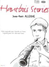 Hautbois Stories Jean-Marc Allerme Partition laflutedepan.com