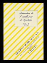 Formation de l' Oreille Par le Répertoire Volume 2f laflutedepan.com