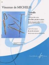 Trastullo op. 83 - Piccolo piano Vincenzo de Michelis laflutedepan.com