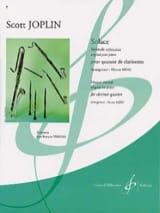 Scott Joplin - Solace – Quatuor clarinettes - Partition - di-arezzo.fr