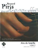Airs de famille Volume 2 Bernard Piris Partition laflutedepan.com