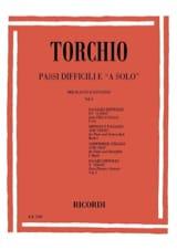 Baldassare Torchio - Passi Difficili e a solo – Volume 1 - Partition - di-arezzo.fr