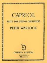 Capriol Suite Peter Warlock Partition ENSEMBLES - laflutedepan.com