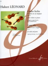 Hubert Léonard - 4th Solo in C major, op. 41 Comentale - Sheet Music - di-arezzo.com
