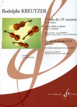 Rodolphe Kreutzer - 1st Solo of the Concerto No. 13 Comentale - Sheet Music - di-arezzo.com