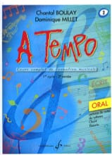 Chantal BOULAY et Dominique MILLET - A Tempo Volume 2 - Oral - Partition - di-arezzo.fr