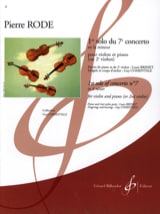 Pierre Rode - 1st Solo of Concerto No. 7 in A minor - Sheet Music - di-arezzo.com