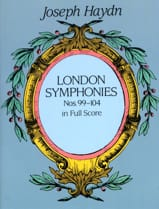London Symphonies N° 99 à 104 HAYDN Partition laflutedepan.com