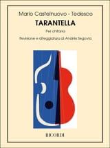 Mario Castelnuovo-Tedesco - Tarantella - Partition - di-arezzo.fr