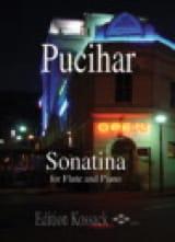 Sonatina - Flute piano Blaz Pucihar Partition laflutedepan.com