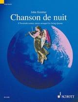 John Kember - Chanson De Nuit - Partition - di-arezzo.fr