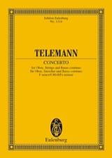 Oboen-Konzert F-Moll TELEMANN Partition laflutedepan.com