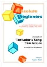 Toreador's Song extr. de Carmen BIZET Partition laflutedepan