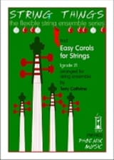 Easy Carols for Strings Terry Cathrine Partition laflutedepan.com
