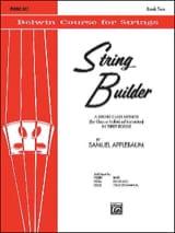 Samuel Applebaum - String Builder, Volume 2 - Piano Accompaniment - Sheet Music - di-arezzo.co.uk