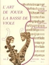 L'Art de jouer de la basse de viole – Volume 2 - laflutedepan.com
