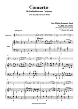 Carl Philipp Emanuel Bach - Concerto nach Wq 21/164 B-Dur - English Horn Klavier - Sheet Music - di-arezzo.co.uk