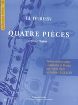 DEBUSSY - Four pieces - Sheet Music - di-arezzo.co.uk