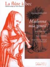 Giovanni Bassano - Madonna mia gentil - Partition - di-arezzo.fr