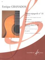 Enrique Granados - Spanischer Tanz Nr. 10 - Noten - di-arezzo.de