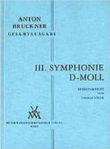 Symphonie Nr. 3 d-moll 1889 - Vol 3 Dirigierpartitur laflutedepan