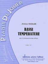 Jérôme Naulais - Basse température - Partition - di-arezzo.fr