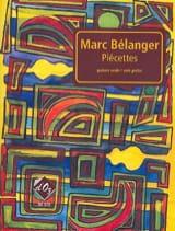 Piécettes Marc Bélanger Partition Guitare - laflutedepan.com