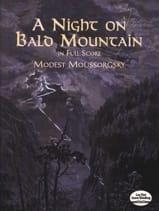 Modeste Moussorgski - Night on the Bare Mountain - Full Score - Partition - di-arezzo.fr