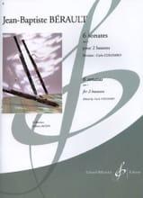 6 Sonates pour 2 bassons op. 1 Jean-Baptiste Bérault laflutedepan.com