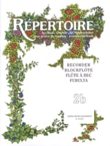 Répertoire for music schools - Volume 2B – Recorder laflutedepan.com