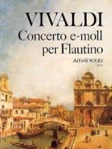 Concerto e-moll per flautino VIVALDI Partition laflutedepan.com