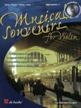 Musical Souvenirs - Violon Jos van den Dungen laflutedepan.com