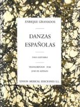 Enrique Granados - Danzas espanolas –Guitarra - Partition - di-arezzo.fr